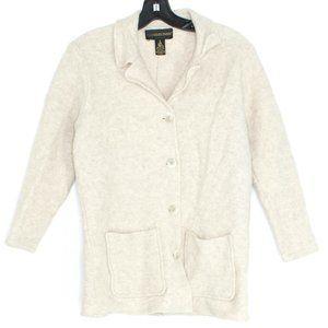 Classiques Entier Cardigan Sweater Wool Medium FL